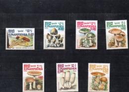 Kampuchea Nº 576-82 Tema Setas, Serie Completa En Nuevo. 10 € - Hongos