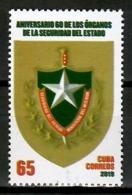 Cuba 2019 / State Security Forces MNH Cuerpos De Seguridad Del Estado / Cu13932  C3-10 - Cuba