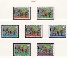 YEAR INTERN. OF CHILD - HAITI  - Mi. Nr.  1348/1354 - NH - (6532-17.) - Haiti