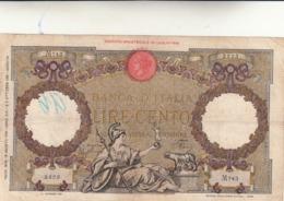 Lire 100 Aquila Romana Fascio Dec. 19/08/1941 F.to Azzolini Urbini.  Integra - [ 1] …-1946: Königreich
