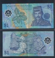 1996 Negara Brunei Darussalam ONE DOLLAR $1 Banknote Currency Money (#146A) C/1-606078 - Brunei