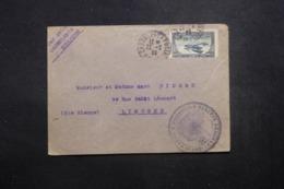 MAROC - Enveloppe En FM De Casablanca Pour Limoges En 1923 Par Avion, Affranchissement Plaisant - L 42910 - Marokko (1891-1956)