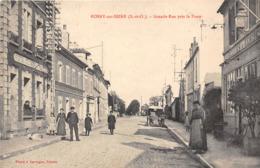 78-ROSNY-SUR-SEINE- GRANDE RUE , PRES LA POSTE - Rosny Sur Seine