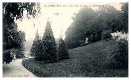 75 PARIS 14ème - Un Coin Du Parc De Montsouris - Arrondissement: 14