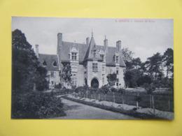 GENÊTS. Le Château De Brion. - Autres Communes