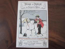 Carte Postale Illustrateur Benjamin Rabier Théorie Et Pratique - Rabier, B.