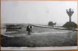 Noirmoutier - 85 - Le Passage Du Gois - Menu Hôtel Beau Rivage Du 17 Juillet 1904 Au Verso - Noirmoutier