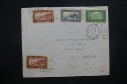MAROC - Enveloppe De Tanger Pour Paris En 1939 Par Avion, Affranchissement Plaisant - L 42912 - Marokko (1891-1956)