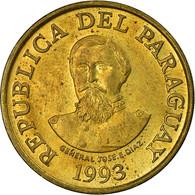 Monnaie, Paraguay, 100 Guaranies, 1993, TTB, Brass Plated Steel, KM:177a - Paraguay