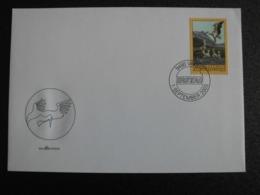 Liechtenstein 2003 - FDC Vogels Ooievaar / Birds Stork - Lettres & Documents