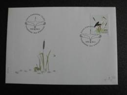 Switzerland Suisse Helvetia 2013 - FDC Vogels Ooievaar / Birds Stork - Lettres & Documents
