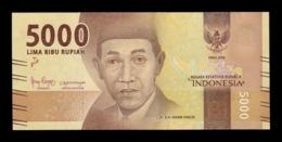 Indonesia 5000 Rupiah 2016 (2018) Pick 156c New SC UNC - Indonesia