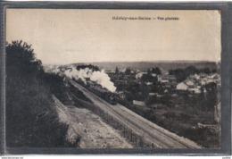 Carte Postale 77. Héricy-sur-Seine  Passage D'un Train Vapeur Très  Beau Plan - Francia