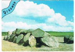 HUN-28   DOLMEN At DROUWEN ( Hunebed ) - Dolmen & Menhirs
