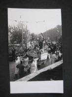 1959 FOTO PROCESSIONE SANTO ( FORSE ROVERETO ZOAGLI CHIAVARI ? ) - Persone Anonimi