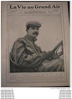 1908 COURSES AUTOMOBILE GRAND PRIX DE L´A . C . F CIRCUIT DE DIEPPE - NAZZARO - LES VOITURES ET LES CONDUCTEURS - Journaux - Quotidiens
