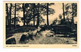 HUN-34   DOLMEN At EMMEN ( Hunebed ) - Dolmen & Menhirs