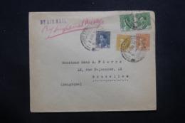 IRAQ - Enveloppe Commerciale De Baghdad Pour La Belgique En 1936 Par Avion, Affranchissement Plaisant - L 42920 - Iraq