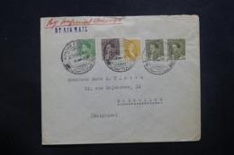 IRAQ - Enveloppe Commerciale De Baghdad Pour La Belgique En 1936 Par Avion, Affranchissement Plaisant - L 42921 - Iraq