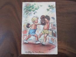 Carte Postale Illustrateur Germaine Bouret Arrêtez La Boucherie - Bouret, Germaine