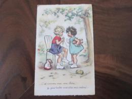 Carte Postale Illustrateur Germaine Bouret Je Fais Toutes Mes Robes Moi-même - Bouret, Germaine