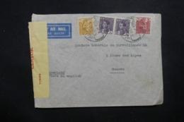 IRAQ - Enveloppe De Baghdad Pour La Suisse En 1940 Par Avion, Affranchissement Plaisant Avec Contrôle Postal - L 42922 - Iraq