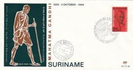 FDC SURINAM 561,Gandhi - Mahatma Gandhi