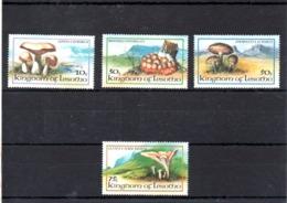 Lesotho Nº 533-36 Tema Setas, Serie Completa En Nuevo, 4,75 € - Hongos
