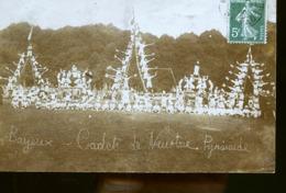 BAYEUX CP PHOTO CADETS DE NEUSTRIE //// DESTINATAIRE MR GOLANNORE CHAUFFEUR DE TRAIN CAEN COMPA DE LOUEST - Bayeux