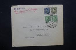 IRAQ - Enveloppe Commerciale De Baghdad Pour La Belgique En 1936 Par Avion, Affranchissement Plaisant - L 42923 - Iraq