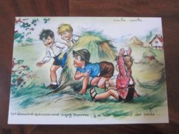 Carte Postale Illustrateur Germaine Bouret Cache-cache - Bouret, Germaine