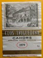 11746 - Clos Triguedina 1979 - Cahors