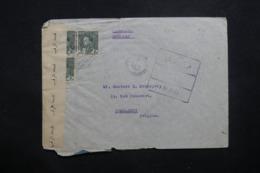 IRAQ - Enveloppe Commerciale De Baghdad Pour La Belgique En 1945 Par Avion Avec Contrôle Postal - L 42924 - Iraq