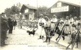 BORDEAUX - Août 1914- Tirailleurs Algériens  -ed. Gourdin - War 1914-18