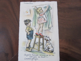 Carte Postale Illustrateur Germaine Bouret Camouflage - Bouret, Germaine