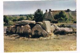HUN-42   DOLMEN De KERMARIO ( Hunebed ) - Dolmen & Menhirs