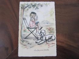 Carte Postale Illustrateur Germaine Bouret La Femme Fatale - Bouret, Germaine