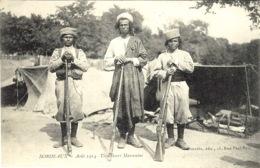 BORDEAUX - Août 1914- Tirailleurs Marocains -   -ed. Gourdin - War 1914-18