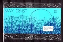 """"""" FRANCE / ALLEMAGNE MAX ERNST """" Emission Commune De 1991 4 X N°YT 2727 + All. 4 X N° YT 1401 (Prix Poste = 6.10 €) PPEC - Emissions Communes"""