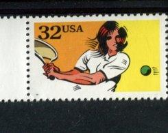 849880591 1995 SCOTT 2964 POSTFRIS MINT NEVER HINGED EINWANDFREI (XX)  RECREATIONAL SPORTS  - TENNIS - Unused Stamps