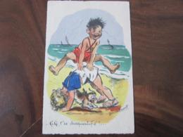 Carte Postale Illustrateur Germaine Bouret Kiki T'es Disqualifié! - Bouret, Germaine