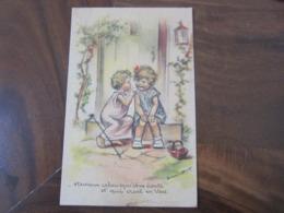 Carte Postale Illustrateur Germaine Bouret Heureux Celui Qui Vous écoute - Bouret, Germaine