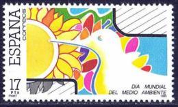 España. Spain. 1985. Dia Mundial Del Medio Ambiente - 1981-90 Nuevos & Fijasellos