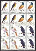 España. Spain. 1985. B4. Pajaros. Birds - 1931-Hoy: 2ª República - ... Juan Carlos I
