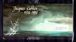 """"""" FRANCE / CANADA : JACQUES CARTIER """" Emission Commune De 1984 . 4 X N°YT 2307 + Canada 4 X N° YT 869 PPEC - Emissions Communes"""