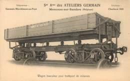 Charleroi - Monceau-sur-Sambre - Sté Ame Des Ateliers Germain - Wagon Basculeur Pour Transport De Minerais - Charleroi