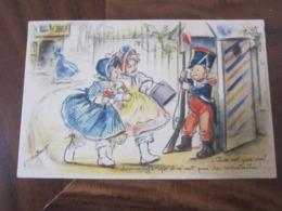 Carte Postale Illustrateur Germaine Bouret Petit Soldat - Bouret, Germaine