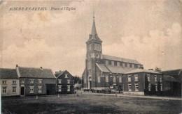 Eghezée - Aische-en-Refail - La Place Et L' Eglise - Eghezée