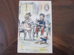 Carte Postale Illustrateur Germaine Bouret Vous Avez Du En Gagner Des Batailles Mon Général! - Bouret, Germaine