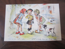 Carte Postale Illustrateur Germaine Bouret T'en As Une Belle Robe! - Bouret, Germaine